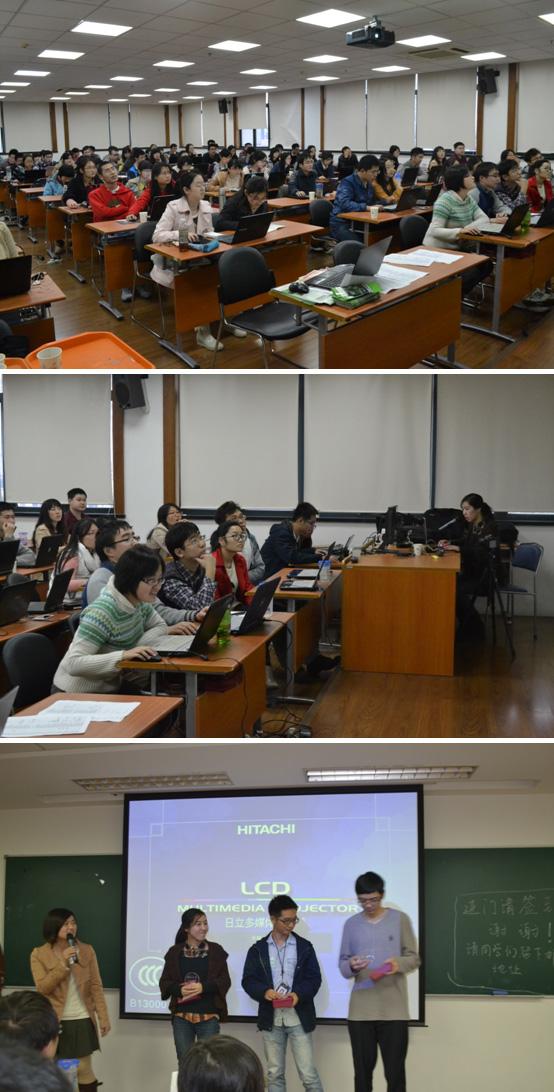 随着目前各类研究技术的日趋成熟,科技工作者对图文软件的需求也越来越多。为此,中国细胞生物学学会联合中科院上海分院《科浦青春》编辑部于2013年11月23日至24日在中科大厦为广大上海分院的科研学子举办了第二届作图软件培训讲座。 本次培训邀请到了上海巴斯德所的何振亮、许文佳以及《科浦青春》美术编辑张超作为主讲嘉宾,他们现场演示了精美图片的制作过程。讲座分为两天,单次持续3个多小时,累计到场学员300余人,嘉宾们为到场到的同学们奉上了一堂精彩的相片美化、论文图片制作技术培训课程,点缀学员日常生活,助力学员日后